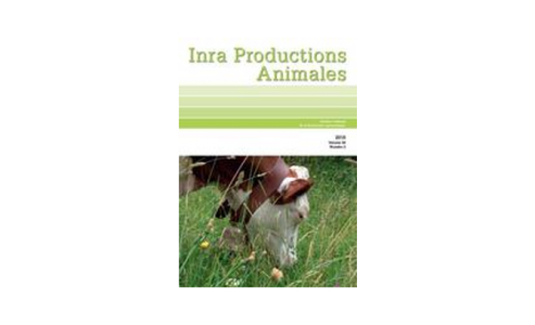 INRA Productions Animales - Volume 29, n°2