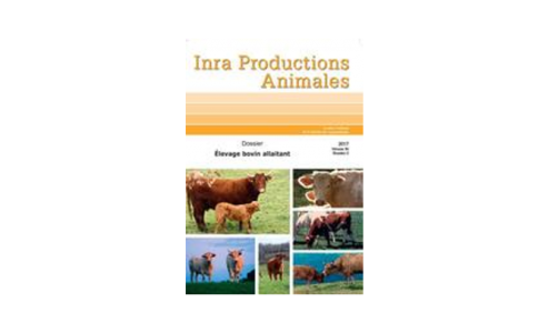 INRA Productions Animales - Volume 30, n°2