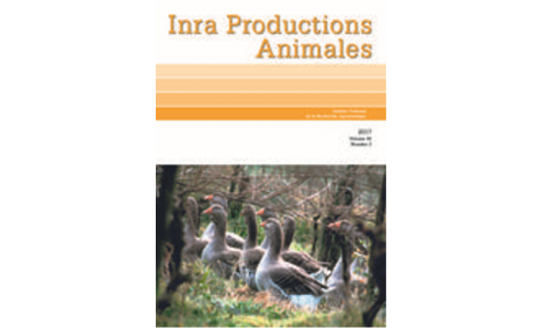 INRA Productions Animales - Volume 30, n°3